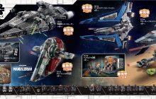 Zeven nieuwe LEGO Star Wars-sets gepresenteerd
