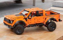 Nieuwe beelden van LEGO Technic 42126 Ford Raptor F-150