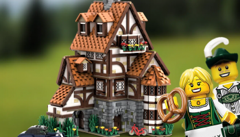 LEGO Ideas-project German Traditional Cottage bereikt reviewronde