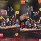LEGO Creator Expert 10284 Camp Nou Stadion krijgt eigen GWP: LEGO 40485 FC Barcelona Celebration