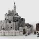 LEGO Ideas-project Minas Tirith bereikt tweede reviewronde 2021