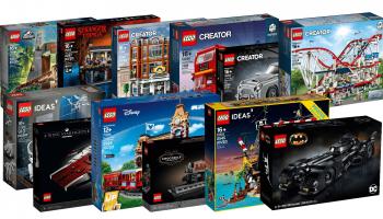 LEGO markeert sets die binnenkort uit de handel gaan