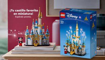 Eerste officiële beelden van LEGO 40478 Little Disney Castle gepubliceerd