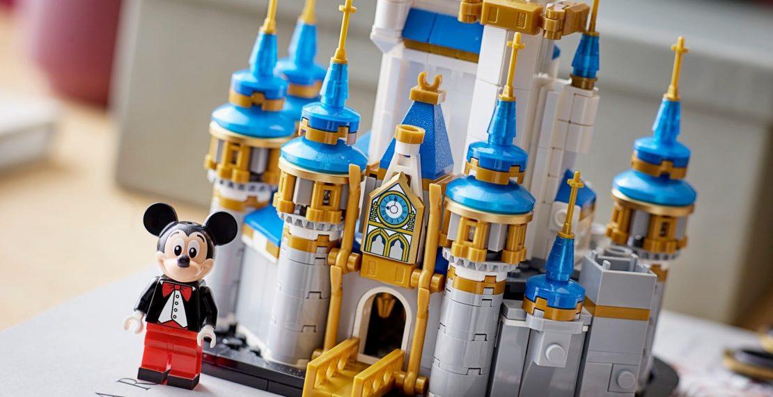 LEGO 40478 Mini Disney Castle vanaf 1 oktober beschikbaar