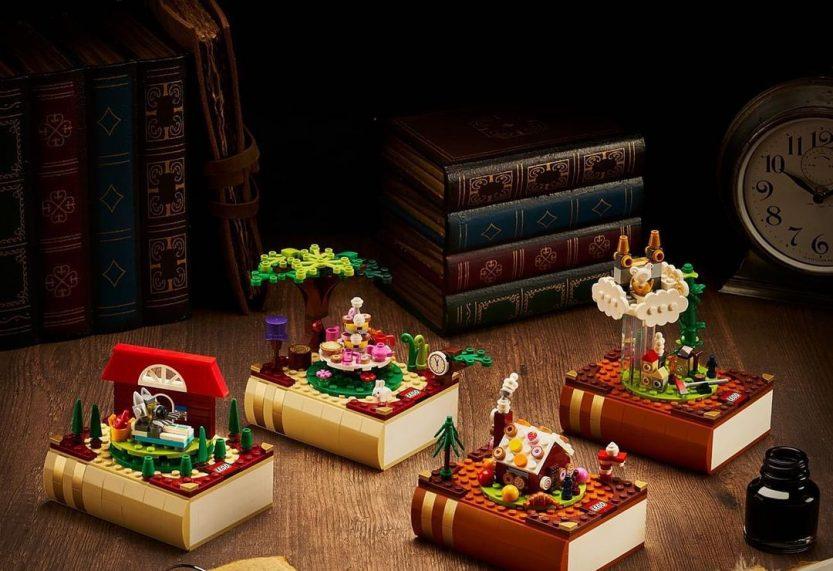 LEGO Bricktober 2021: Hans & Grietje, Jaap en de bonenstaak, Roodkapje en Alice in Wonderland