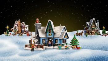 LEGO Winter Village 10293 Santa's Visit gepresenteerd: VIP-voorverkoop van start gegaan