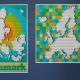 Nieuwe ontwerpen voor LEGO Art 31203 Wereldkaart: Denemarken en Europa