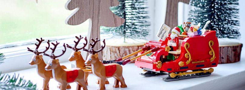 LEGO Seasonal 40499 Santa's Sleigh vanaf 1 oktober te koop