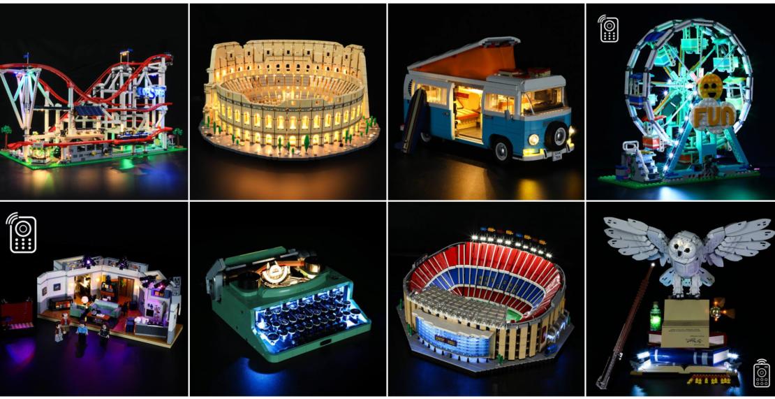 Lightailing is jarig en geeft 50% korting op alle LEGO-verlichting